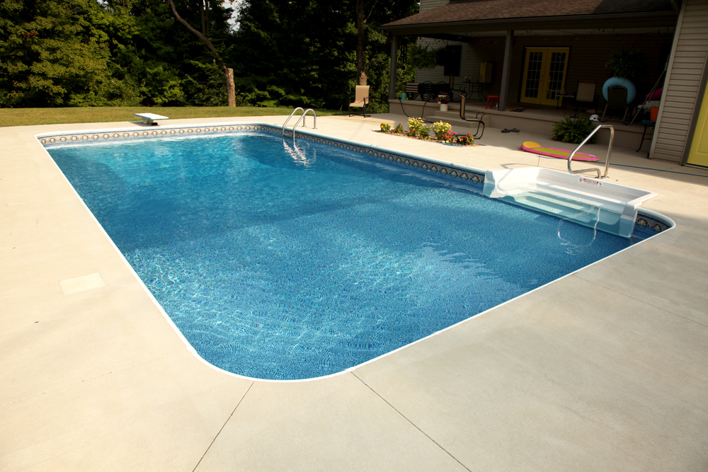 Newark custom pools design zanesville pool photos Above ground swimming pools with deep end