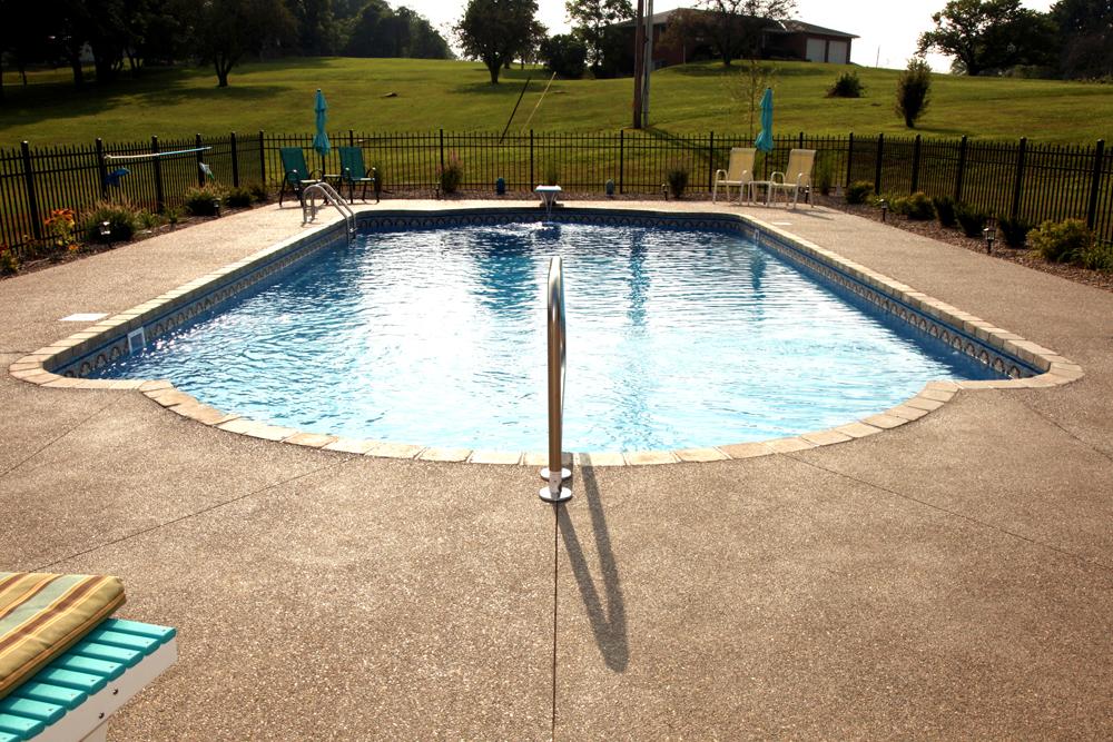 newark custom pools design, zanesville pool photos