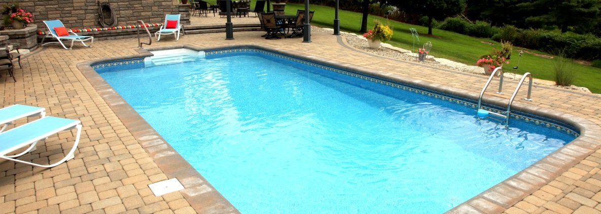 Zanesville Inground Pools Newark Vinyl Liner Fiberglass Pool