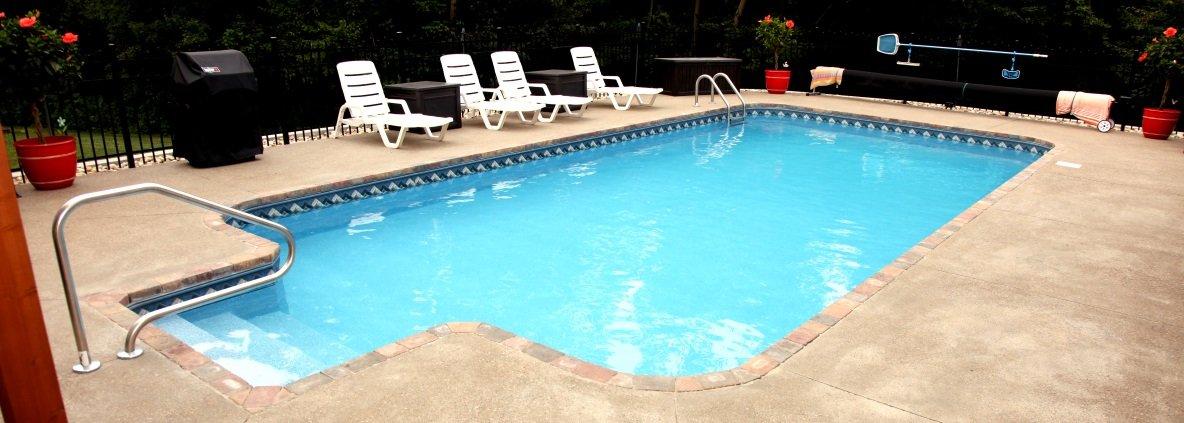 vinyl lined inground pools zanesville inground pool newark vinyl liners